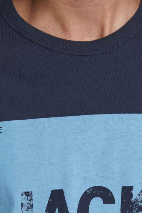 JACK & JONES T-shirts (manches courtes) bleu 12179528_NAVY BLAZER img4