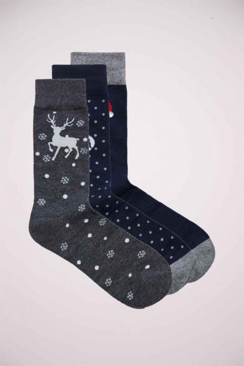 ACCESSORIES BY JACK & JONES Geschenken (sokken) blauw 12179729_NAVY BLAZER img5