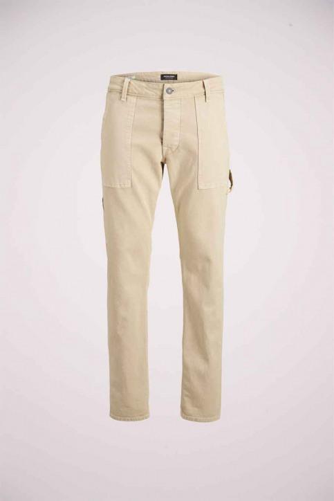 JACK & JONES JEANS INTELLIGENC Jeans tapered KHAKI 12180815_AGI054 KHAKI img4