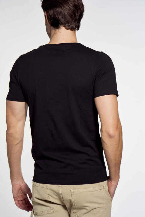 CORE BY JACK & JONES T-shirts (korte mouwen) zwart 12181841_BLACK SL GIBS T img3