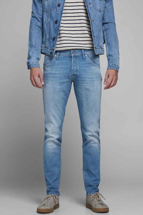 JACK & JONES JEANS INTELLIGENC Jeans slim denim 12182208_BLUE DENIM img1