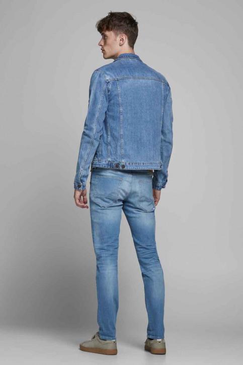 JACK & JONES JEANS INTELLIGENC Jeans slim denim 12182208_BLUE DENIM img3