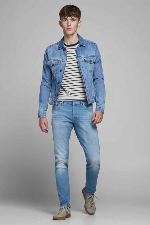 JACK & JONES JEANS INTELLIGENC Jeans slim denim 12182208_BLUE DENIM img6