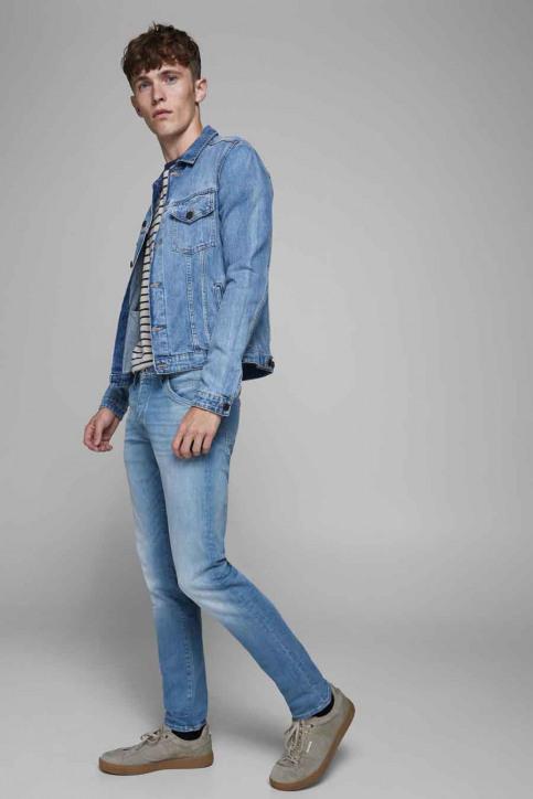 JACK & JONES JEANS INTELLIGENC Jeans slim denim 12182208_BLUE DENIM img7
