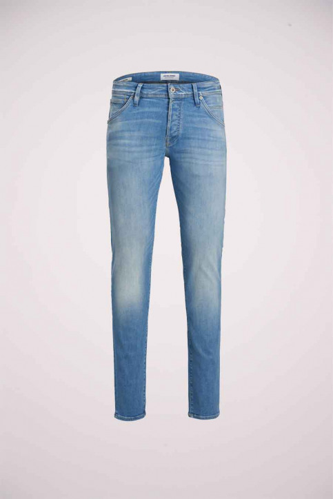 JACK & JONES JEANS INTELLIGENC Jeans slim denim 12182208_BLUE DENIM img8