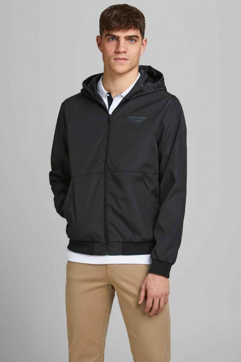 CORE BY JACK & JONES Jassen (kort) zwart 12182243_BLACK img1