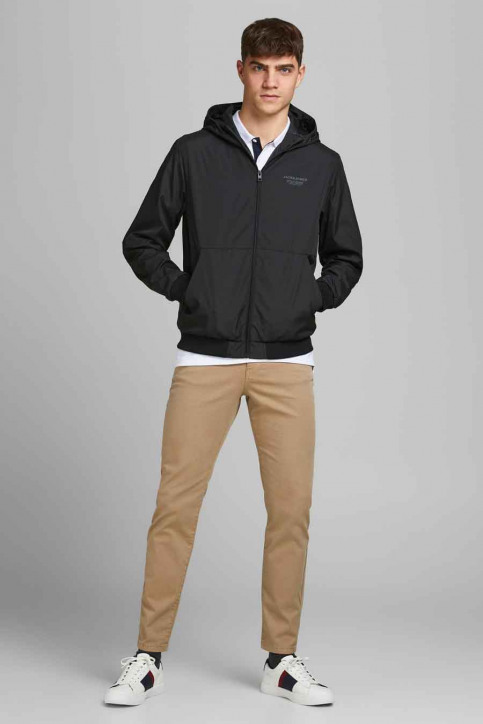 CORE BY JACK & JONES Jassen (kort) zwart 12182243_BLACK img2