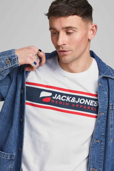 CORE BY JACK & JONES T-shirts (korte mouwen) wit 12182326_BRIGHT WHITE RE img1