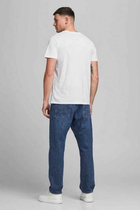 CORE BY JACK & JONES T-shirts (korte mouwen) wit 12182326_BRIGHT WHITE RE img3