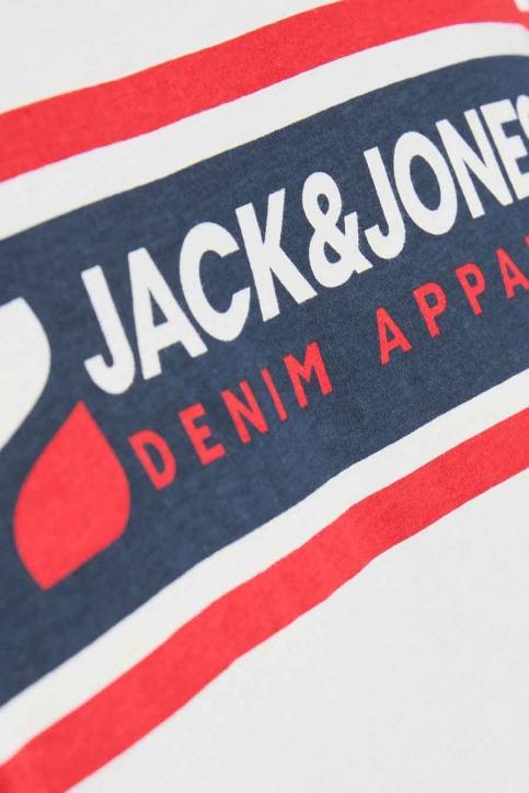 CORE BY JACK & JONES T-shirts (korte mouwen) wit 12182326_BRIGHT WHITE RE img5