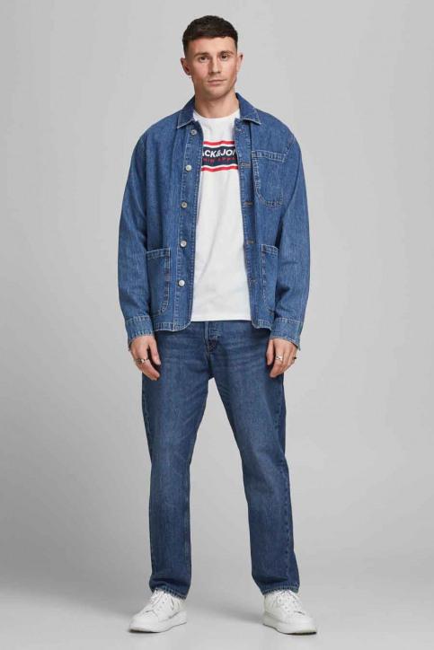 CORE BY JACK & JONES T-shirts (korte mouwen) wit 12182326_BRIGHT WHITE RE img6
