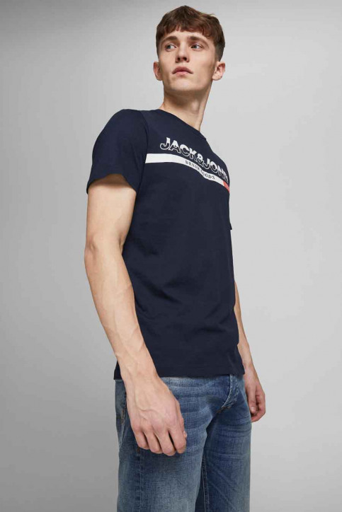 CORE BY JACK & JONES T-shirts (korte mouwen) blauw 12182326_NAVY BLAZER REG img2