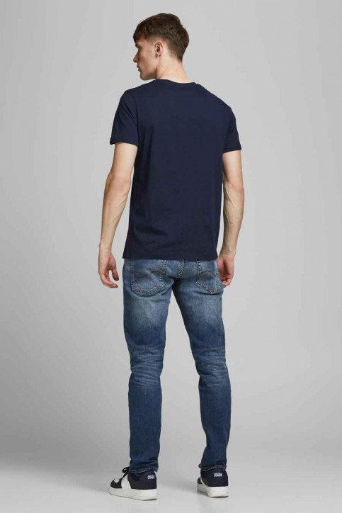 CORE BY JACK & JONES T-shirts (korte mouwen) blauw 12182326_NAVY BLAZER REG img5