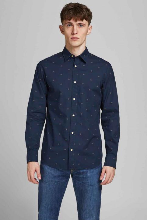 ORIGINALS BY JACK & JONES Hemden (lange mouwen) blauw 12183603_NAVY BLAZER SLI img1