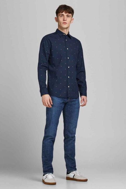 ORIGINALS BY JACK & JONES Hemden (lange mouwen) blauw 12183603_NAVY BLAZER SLI img2