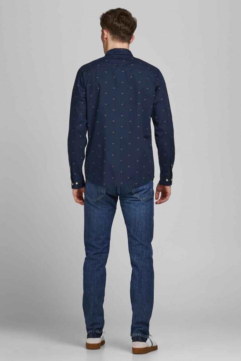 ORIGINALS BY JACK & JONES Hemden (lange mouwen) blauw 12183603_NAVY BLAZER SLI img3