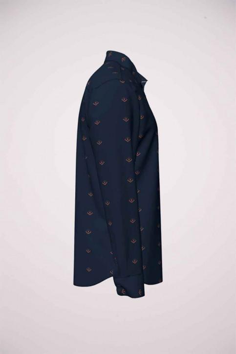 ORIGINALS BY JACK & JONES Hemden (lange mouwen) blauw 12183603_NAVY BLAZER SLI img4