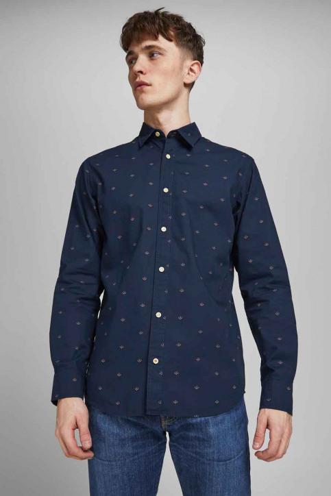 ORIGINALS BY JACK & JONES Hemden (lange mouwen) blauw 12183603_NAVY BLAZER SLI img6