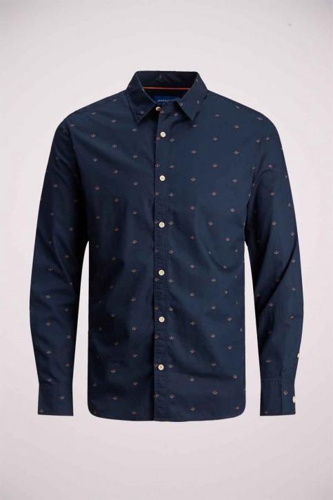 ORIGINALS BY JACK & JONES Hemden (lange mouwen) blauw 12183603_NAVY BLAZER SLI img7