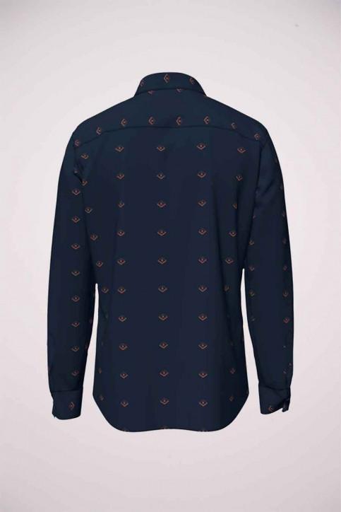 ORIGINALS BY JACK & JONES Hemden (lange mouwen) blauw 12183603_NAVY BLAZER SLI img8
