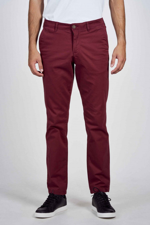 JACK & JONES JEANS INTELLIGENC Chino's bruin 12183794_CHOCOLATE TRUFF img1