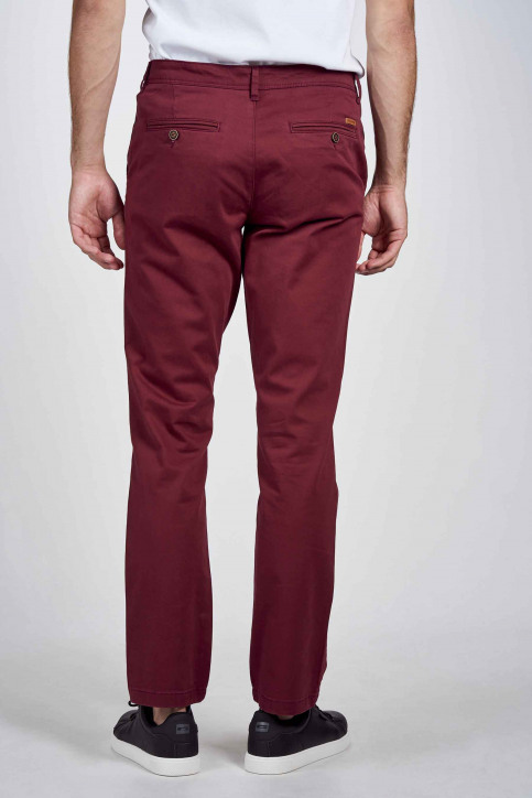 JACK & JONES JEANS INTELLIGENC Chino's bruin 12183794_CHOCOLATE TRUFF img2