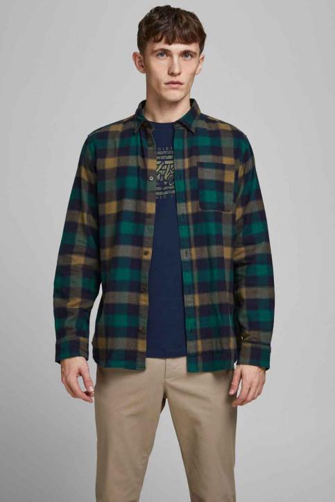 ORIGINALS BY JACK & JONES Hemden (lange mouwen) grijs 12183842_RUBBER img1
