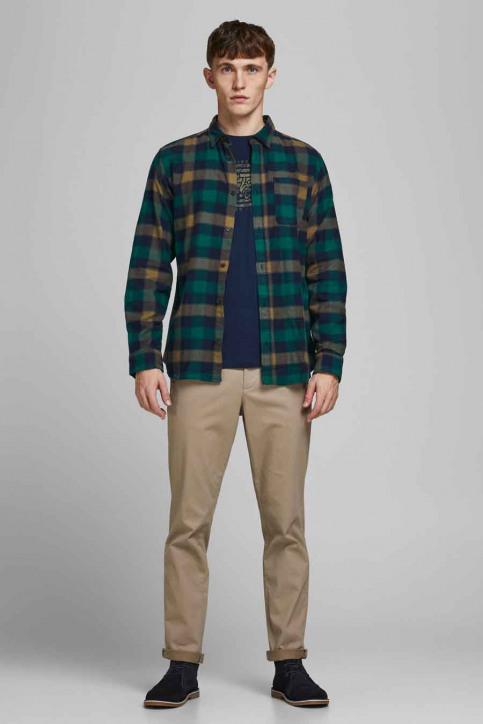 ORIGINALS BY JACK & JONES Hemden (lange mouwen) grijs 12183842_RUBBER img2