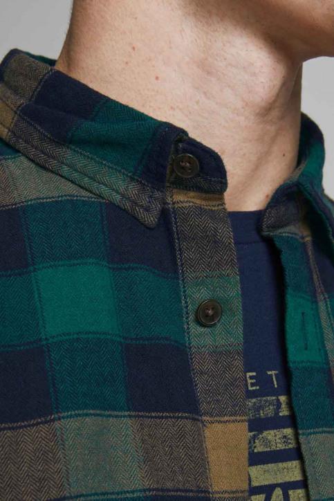 ORIGINALS BY JACK & JONES Hemden (lange mouwen) grijs 12183842_RUBBER img4