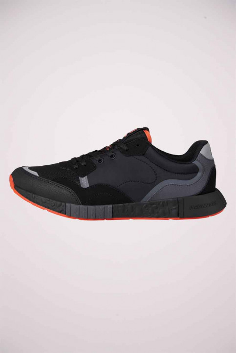 ACCESSORIES BY JACK & JONES Sneakers zwart 12184220_ANTHRACITE img2