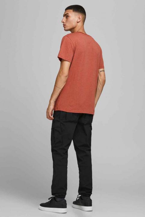 CORE BY JACK & JONES T-shirts (korte mouwen) rood 12185101_RED OCHRE SLIM img2
