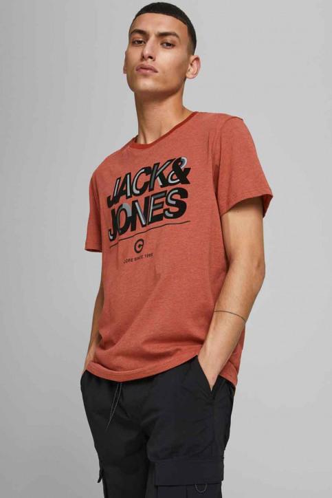 CORE BY JACK & JONES T-shirts (korte mouwen) rood 12185101_RED OCHRE SLIM img5
