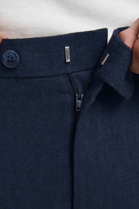 PREMIUM by JACK & JONES Kostuumbroeken blauw 12185133_DARK NAVY SUPER img5