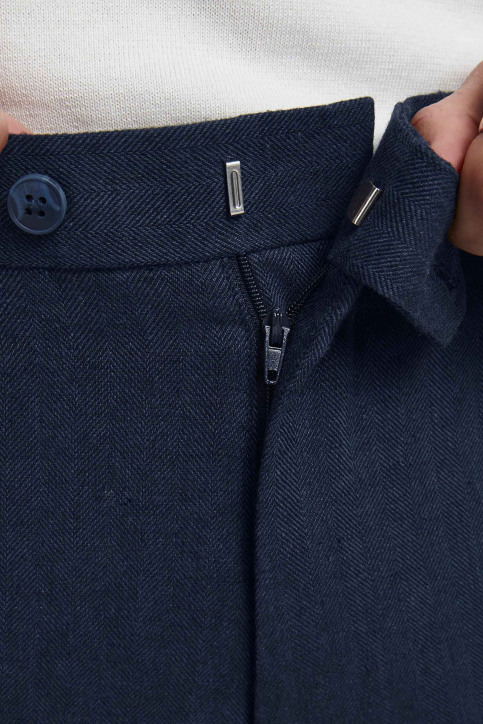 PREMIUM by JACK & JONES Kostuumbroeken blauw 12185133_DARK NAVY SUPER img8