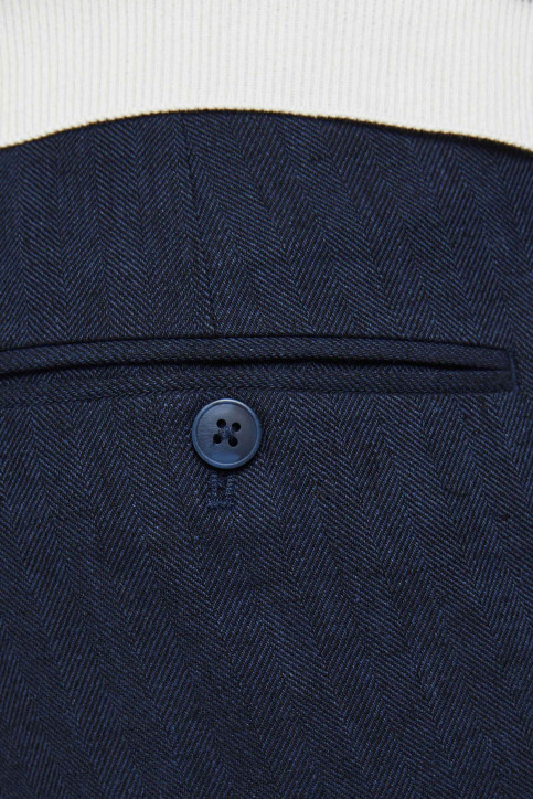 PREMIUM by JACK & JONES Kostuumbroeken blauw 12185133_DARK NAVY SUPER img9