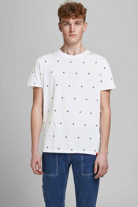 ORIGINALS BY JACK & JONES T-shirts (korte mouwen) wit 12186223_WHITE REG img1