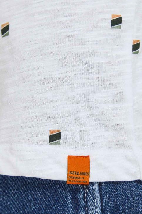 ORIGINALS BY JACK & JONES T-shirts (korte mouwen) wit 12186223_WHITE REG img4