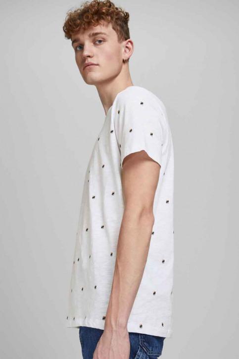 ORIGINALS BY JACK & JONES T-shirts (korte mouwen) wit 12186223_WHITE REG img5