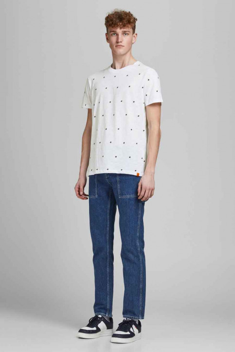 ORIGINALS BY JACK & JONES T-shirts (korte mouwen) wit 12186223_WHITE REG img6