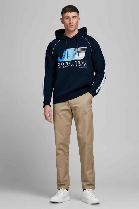 CORE BY JACK & JONES Sweaters met kap blauw 12189213_NAVY BLAZER img1