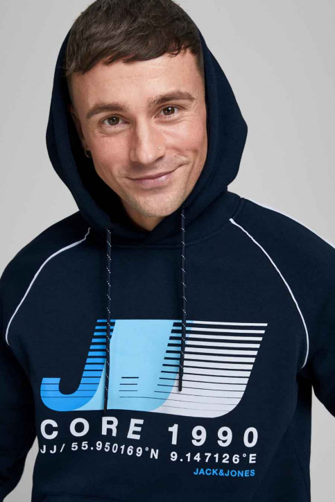CORE BY JACK & JONES Sweaters met kap blauw 12189213_NAVY BLAZER img2