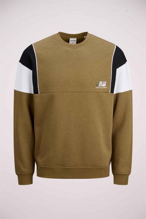 CORE BY JACK & JONES Sweaters met ronde hals bruin 12189214_KANGAROO img1