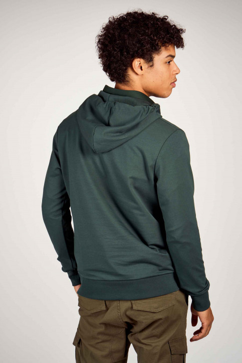 CORE BY JACK & JONES Sweaters met kap groen 12190271_DARKEST SPRUCE img3