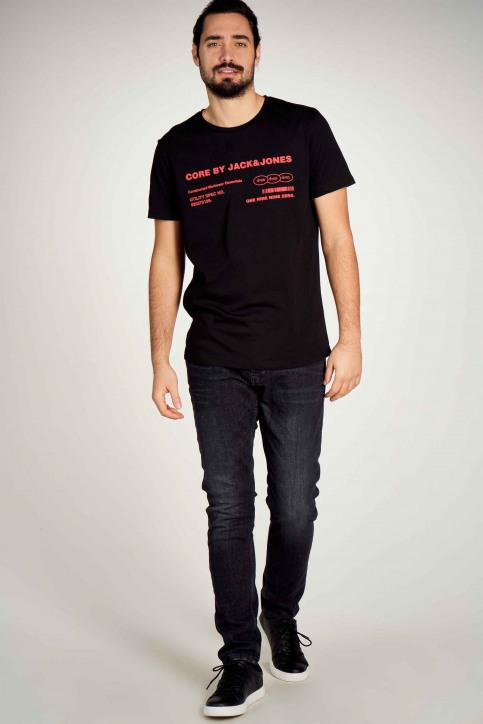 CORE BY JACK & JONES T-shirts (korte mouwen) zwart 12190278_BLACK img1
