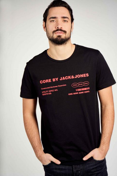 CORE BY JACK & JONES T-shirts (korte mouwen) zwart 12190278_BLACK img2