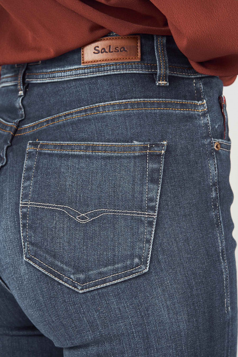 Salsa Jeans Jeans skinny denim 122865_8504 DARK BLUE img4