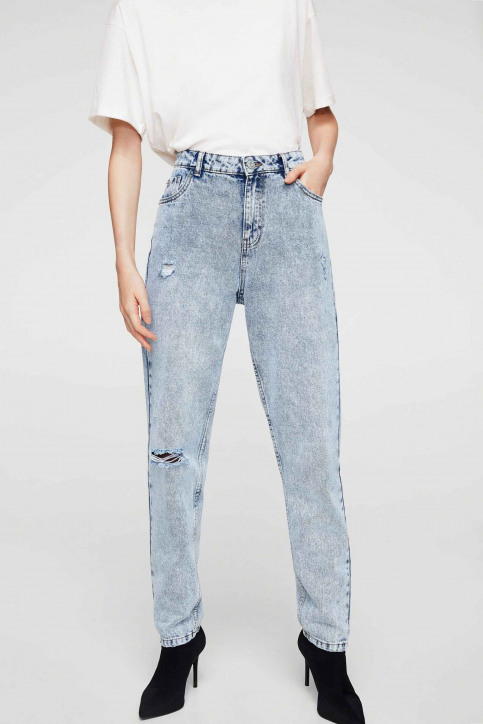 MANGO Jeans special fit blauw 13020298_MNG_17_OPEN BLUE img1