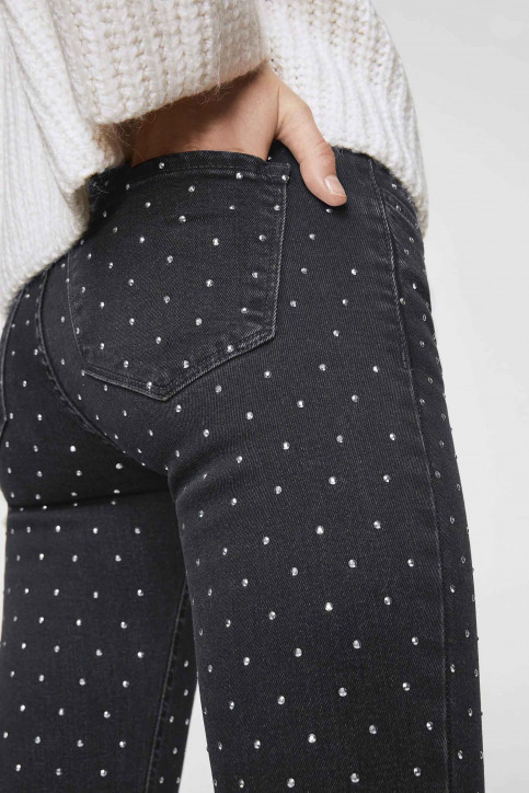 MANGO Jeans skinny noir 13065672_MNG_17_BLACK img2
