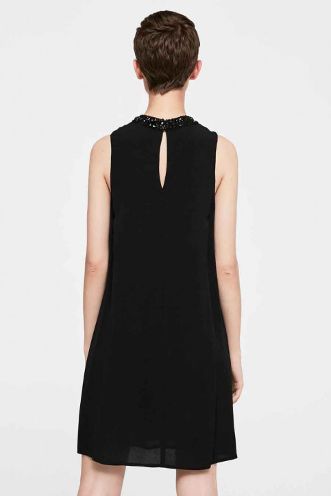MANGO Robes courtes noir 13075013_MNG_17_BLACK img2