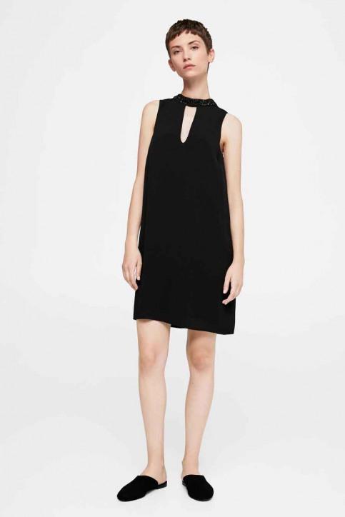 MANGO Robes courtes noir 13075013_MNG_17_BLACK img4